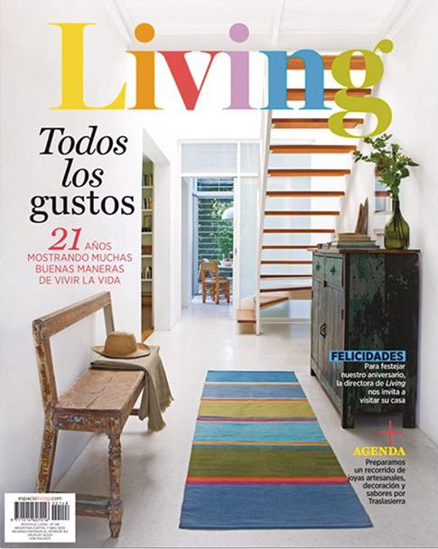Revista living: «Un efecto fugaz», Agosto 2020